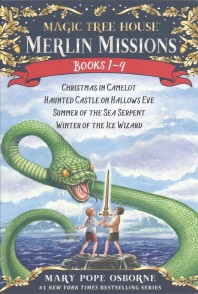 Magic Tree House Merlin Missions Books 1-4 Boxed Set
