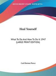[해외]Heal Yourself (Hardcover)