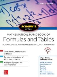 [해외]Schaum's Outline of Mathematical Handbook of Formulas and Tables