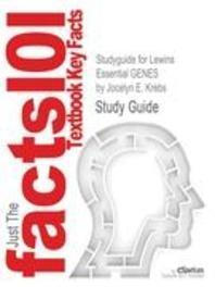 Studyguide for Lewins Essential Genes by Krebs, Jocelyn E., ISBN 9781449644796