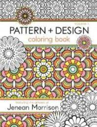 [해외]Pattern and Design Coloring Book, Volume 1