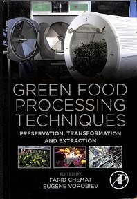 [해외]Green Food Processing Techniques