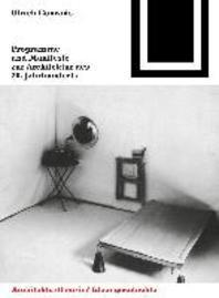 [해외]Programme Und Manifeste Zur Architektur Des 20. Jahrhunderts (Paperback)