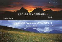 알프스 수평 파노라마의 세계. 1