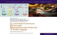 [해외]Continuous Renal Replacement Therapy