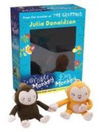 Night Monkey, Day Monkey Book and Plush Gift Set