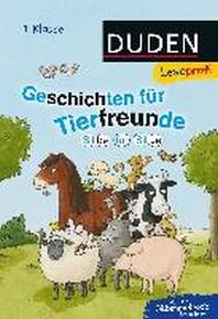 [해외]Leseprofi - Silbe fuer Silbe: Geschichten fuer Tierfreunde (1. Klasse)