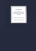 BIBLIOGRAPHY OF WESTERN LANGUAGE PUBLICATIONS ON KOREA(1588 1950)(양장본 HardCover)