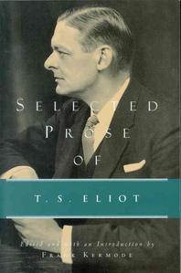 [해외]Selected Prose of T.S. Eliot