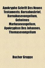 Apokryphe Schrift Des Neuen Testaments
