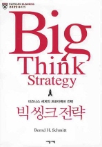 빅 씽크 전략(경제 경영 총서 35)(양장본 HardCover)