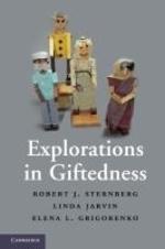 [해외]Explorations in Giftedness (Hardcover)