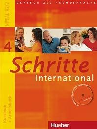 Schritte International 4: Kursbuch + Arbeitsbuch(Arbeitsbuch Audio CD 포함)