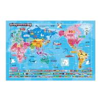 세계지도퍼즐(72조각)