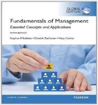 [보유]Fundamentals of Management 9/E: Essential Concepts and Applications (Global Edition)