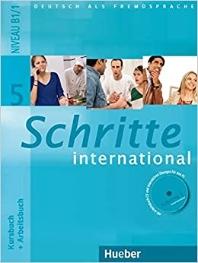Schritte International 5: Kursbuch + Arbeitsbuch mit Audio-CD