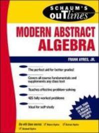 [해외]Schaum's Outline of Modern Abstract Algebra