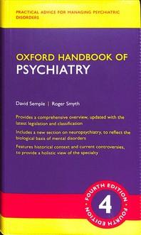 [해외]Oxford Handbook of Psychiatry