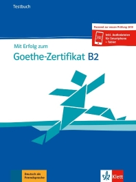 [해외]Mit Erfolg zu Goethe B2 neu. Testbuch