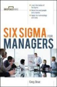 [해외]Six SIGMA for Managers (Paperback)