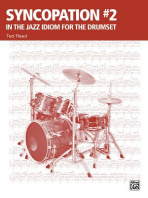 Syncopation #2 in the Jazz Idiom for the Drumset