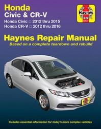 Honda Civic (12-15) & Cr-V (12-16)