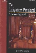 Litigation Paralegal 4/E:Systems Approach