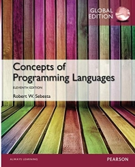 Concepts of Programming Languages(Global Edition)