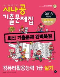 컴퓨터활용능력 1급 실기 기출문제집(2018)(시나공)