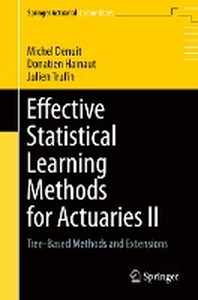 [해외]Effective Statistical Learning Methods for Actuaries II