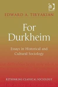 [해외]For Durkheim (Hardcover)