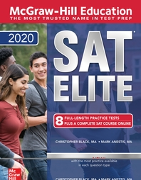 McGraw-Hill Education SAT 2020