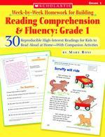 [해외]Week-By-Week Homework for Building Reading Comprehension & Fluency