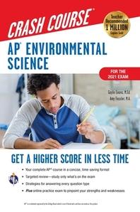 [해외]Ap(r) Environmental Science Crash Course, for the 2021 Exam, Book + Online