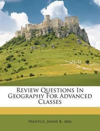 [해외]Review Questions in Geography for Advanced Classes (Paperback)