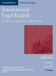 INTERNATIONAL LEGAL ENGLISH : A COURSE FOR CLASSROOM OR SELF-STUDY USE