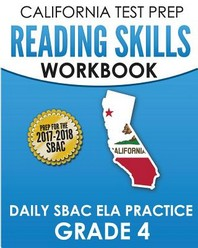 [해외]CALIFORNIA TEST PREP Reading Skills Workbook Daily SBAC ELA Practice Grade 4