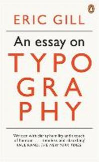 [해외]An Modern Classics an Essay on Typography