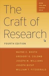 [해외]The Craft of Research (Hardcover)