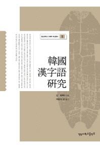 한국 한자어 연구(영남대학교 인문학 육성총서 5)