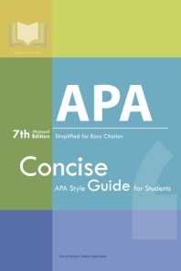 APA Manual 7th Edition Simplified for Easy Citation