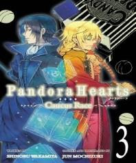 [해외]Pandorahearts Caucus Race, Vol. 3 (Light Novel)