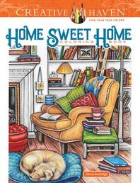 [해외]Creative Haven Home Sweet Home Coloring Book