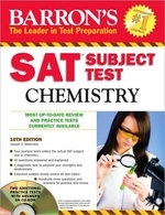 Barron's SAT Subject Test Chemistry [With CDROM] (Revised)