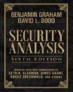 [보유]Security Analysis (Hardcover)