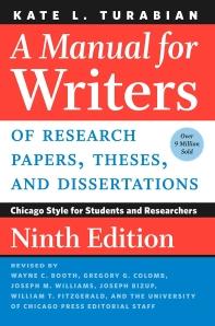 [해외]A Manual for Writers of Research Papers, Theses, and Dissertations, Ninth Edition