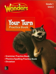 Wonders 1.2 Your Turn Practice Book