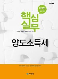 양도소득세(2020)(핵심실무)(개정판 3판)(양장본 HardCover)