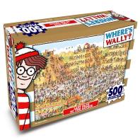 월리를 찾아라 직소퍼즐 500pcs: 아즈택(인터넷전용상품)(퍼즐)