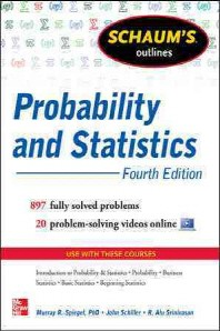 [해외]Schaum's Outline of Probability and Statistics, 4th Edition